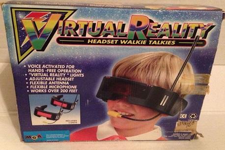 Virtual Reality Headset Walkie Talkies
