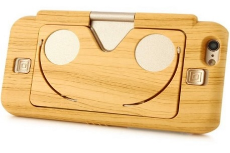 Rubility Wooden VR Case