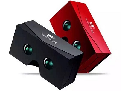 VR Sky Fold 3D Glasses