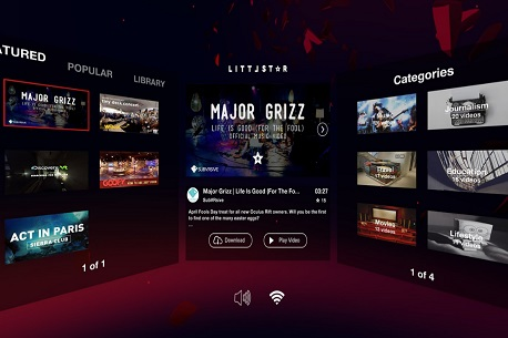 littlstar one of the Best VR apps 2019