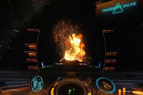 The VR Shop - Elite Dangerous - Steam VR Review