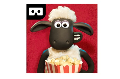 Shaun the Sheep VR Movie Barn (Google Cardboard)