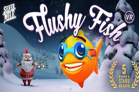 The vr shop flushy fish vr gear vr review for Virtual reality fishing