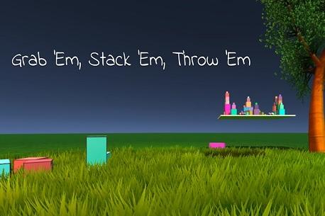 Grab 'Em, Stack 'Em, Throw 'Em (Oculus Rift)