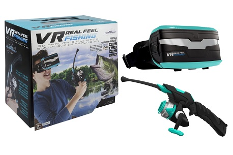 VR Real Feel Fishing (Mobile VR Headset)