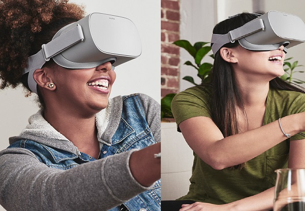 Oculus Go Being Worn