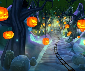 Halloween Roller Coaster