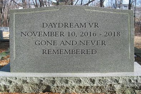 Is It All Over for the Google Daydream Platform?