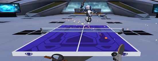 Racket Fury: Table Tennis VR (Oculus Quest)