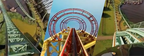 VR Thrills: Roller Coaster 360 (Mobile VR)