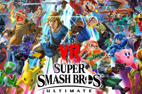 Super Smash Bros VR Is On Its Way!