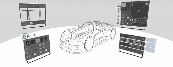 Gravity Sketch (Oculus Quest)