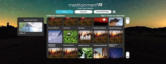 Meditainment VR (Oculus Go)