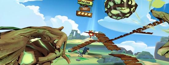 Acron: Attack of the Squirrels! (Oculus Quest)