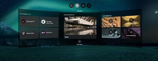 Samsung VR Videos (Oculus Quest)