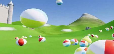 Beach Ball Valley (Steam VR)