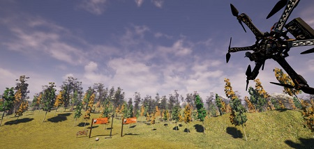 Copter and Sky (Steam VR)