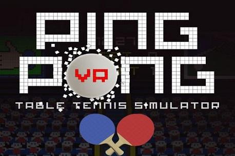 VR Ping Pong (Steam VR)