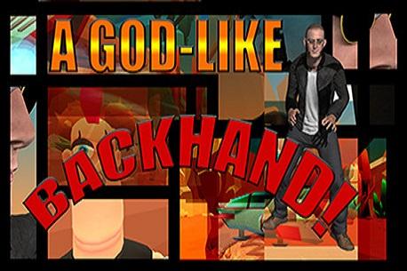 A God-Like Backhand! (Steam VR)