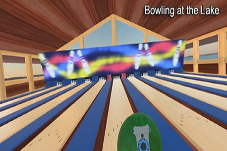 Bowling at the Lake (Steam VR)