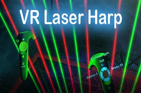 VR Laser Harp (Steam VR)