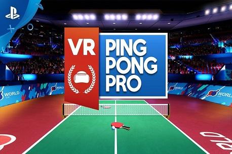 VR Ping Pong Pro (PSVR)