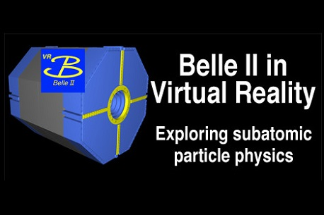 Belle II in Virtual Reality (Steam VR)