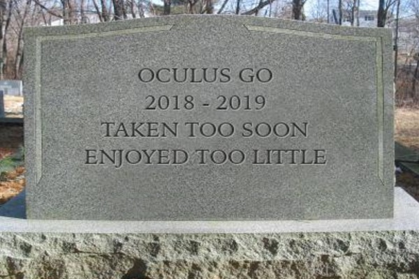 Lets All Calm Down! The Oculus Go is Not Dead Yet!