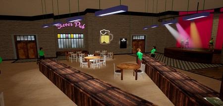 Steve's Pub - Soda on tap (Steam VR)