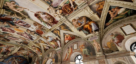 IL DIVINO: Michelangelo's Sistine Ceiling in VR (Steam VR)