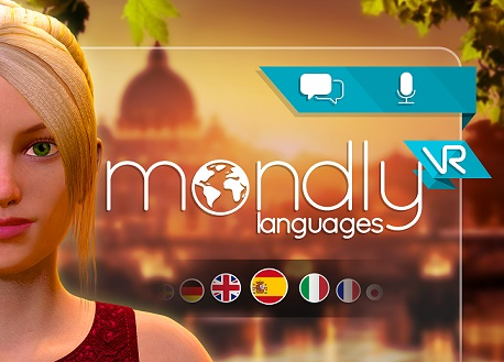 Mondly Learn Languages in VR (Steam VR)