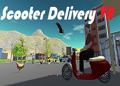 Scooter Delivery VR (Steam VR)