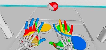 Hand Physics Lab (Oculus Quest)