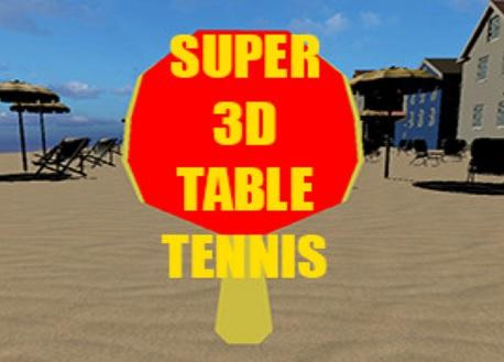 Super 3D Table Tennis (Steam VR)
