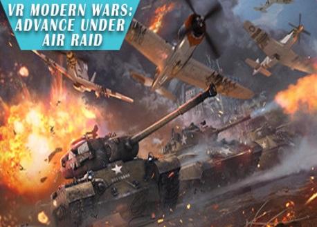 VR Modern Wars: Advance under air raid (Steam VR)
