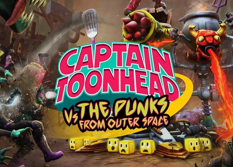 Captain ToonHead vs the Punks from Outer Space (Steam VR)
